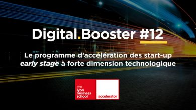 Photo de [Appel à candidatures] Programme d'accélération early stage Digital Booster de l'accélérateur emlyon business school