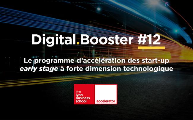 Photo de [Appel à candidatures] Programme d'accélération early stage Digital Booster de l'accélérateur emlyon business school