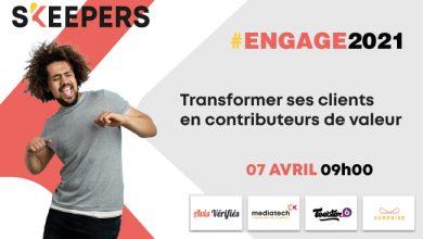 Photo de #ENGAGE2021, une journée pour faire de sa stratégie client un véritable relai de croissance !